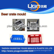 Household turnover beer bottle crates mould