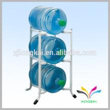 Supermercado venta caliente botella de agua 3 neumático exhibidor de metal