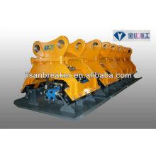 Compacteur hydraulique d'excavatrice de Kubota Kobelco