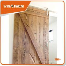 Precio razonable y aceptable hardware decorativo puerta de corredera