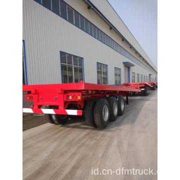 3 Axle Flatbed 40ft Container Semi-Trailer