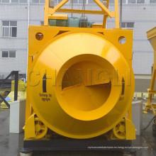 Jzm750 (20-35m3 / h) (Motor eléctrico) Mezclador de concreto autocargable movible