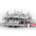 High Standard SMMS Nonwoven Fabric Machine