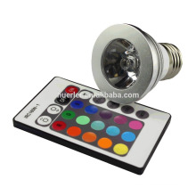 Style moderne rgb led spotlight LED RGB Spotlight avec télécommande