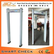 6 Zone Walkthrough Metal Detector Door Waterproof Metal Detector Door