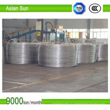 Тип 1370, сертификат ISO, алюминиевая катанка 9,5 мм