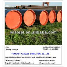 Tubería de acero al carbono con código ASTM A53 GR.B hs