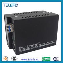 10/100/1000m LC Media Converter