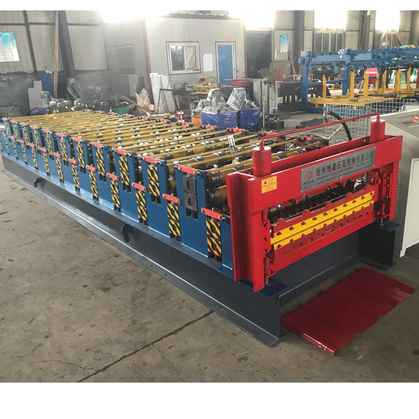 Double Forming Machine Corrugated Roof Making