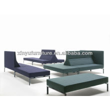 Stripe hotel sofa with armrest and without armrest combination XY0343