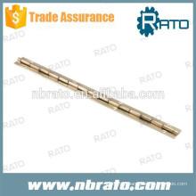 Dobradiça de piano pequena RPH-105 em ouro