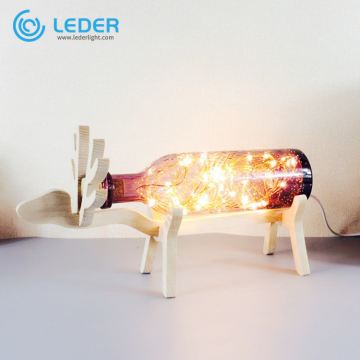 LEDER Glass Bedroom Table Lamps