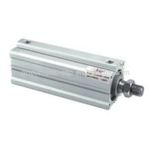 ESP cilindro amortiguador de doble acción cilindro delgado CQ2