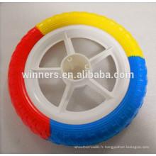 EVA mousse pneu léger en plastique vélo roue 12x1.75