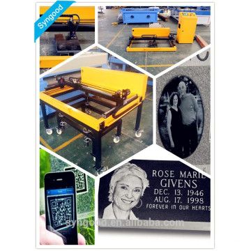 Portable stone laser engraving machine 600*900mm with photo engraving