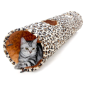 Tube de chat tunnel pliable