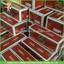 China Nova Cereja Cenoura Fresca para o Mercado do Kuwait