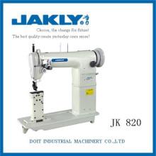 JK820 Sem radiação e Agradável DOUBLE AGULHA Pós-cama Máquina de Costura Industrial Heavy Duty Lockstitch Dupla-agulha