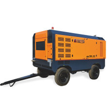 Four wheel diesel air compressor for high cold