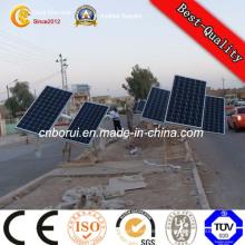 Réverbère solaire 60W LED avec pôles DC12V / DC24V Réverbère pas cher