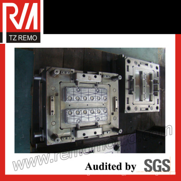 Plastic Solid Battery Cover Injection Mould