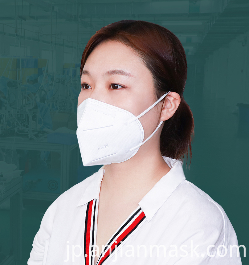 5 Layers Kn95 Face Mask Anti-Virus