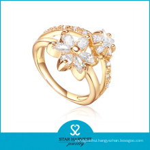 1PC MOQ Spark 925 Sterling Silver Ring with CZ (R-0451)