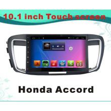 Système Android Lecteur DVD pour Honda Accord 10,1 pouces avec navigation GPS