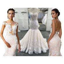 Alta calidad de Champagne / Ivory Wedding Dresses