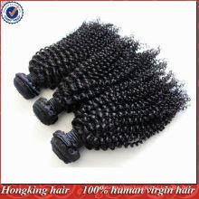 5A grade mongolian kinky curl hair extensions virgin human remy hair