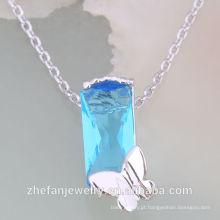 Top venda colar de cristal austríaco conjunto de jóias colar de cristal Rhodium banhado a jóia é sua boa escolha
