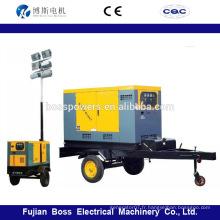 Gains diesel diesel silencieux de 13 kVA avec moteur Yanmar