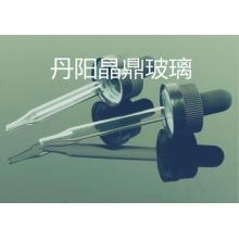 Mini pipeta de vidrio tubular para gotero