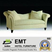 Sofá de la tela del grado superior Sofá popular del hotel fijado (EMT-SF42)