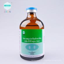 ZNSN nueva tecnología Lincomycin Hydrochloride 10% inyección