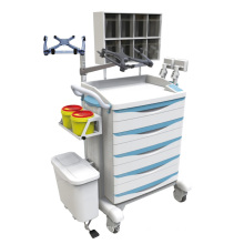 Hospital Keyless Entry Difficult Intubation Crash Trolley