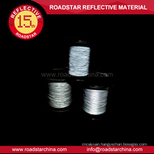 double side reflective thread for knitting