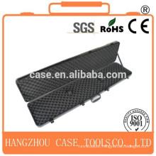 hard gun box/ABS gun box with aluminum frame/plastic gun box
