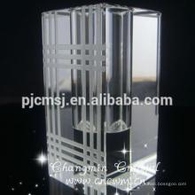 Ясный Квадратный Кристалл Стеклянная Ваза Ваза К9
