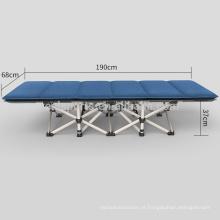 Cama de dobramento comercial portátil de aço dobrável de Dubai da cama