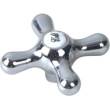 Punho do torneira no plástico do ABS com revestimento do cromo (JY-3063)