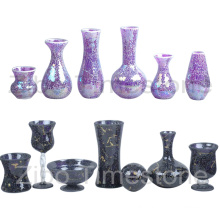 Mosaic Glass Glass Vases (TM1851)