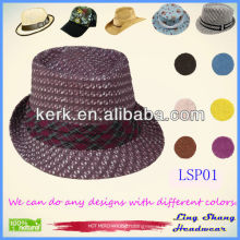 2013 High Quality Promotional Panama Paper Straw Hat,100% Paper Straw Hat,LSP01