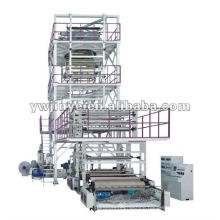 Three to Five Layers Coextrusion Film Blowing Machine