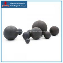 Bolas de acero forjado utilizadas en la minería de metales.