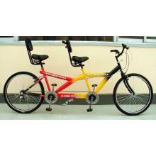 """Tandem Bicycle/Bi-Riding Bicycle/Bicycle/Bike/Bicycle Bike/24"""" One-and-a- Third Bicycle (Tandem bicycle-001)"""