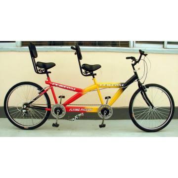 "Tandem Bicycle / Bi-Riding Bicicleta / Bicicleta / Bicicleta / Bicicleta Bicicleta / 24 ""Una y tercera bicicleta (Tandem bicycle-001)"