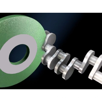 Ceramic Crankshafts and Camshaft Abrasive Grinding Wheel