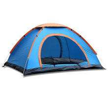 Portable 3-5 People 2 doors Waterproof UV Protection Sun Shelter beach Family automatic pop up outdoor camping tent