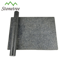 Factory price black marble cheese board set